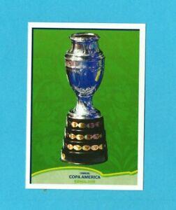 COPA AMERICA 2019 BRASILE-PANINI-Figurina n.400-TROFEO-NEW VELINA