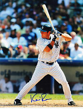 KEVIN REESE NEW YORK YANKEES ACTION SIGNED 8x10