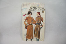 Ancien PATRON MARIE CLAIRE 70's ROBE n°9022 Taille 38-40-42