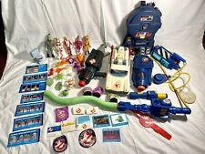 Ghostbusters Lg Vintage Lot Ecto 1 Proton Pack Super Fright Trap Works 1980s VHS