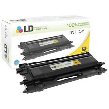LD Remanufactured Brother TN115Y High Yield Yellow Laser Toner Cartridge