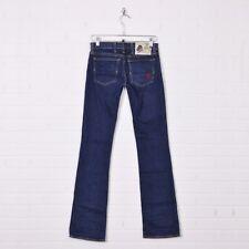 Don Ed Hardy Le Vif Production Hollywood Tattoo Dark Boot Cut Denim Jeans 27 34