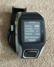 TomTom RUNNER Cardio GPS Sports Watch And Charger TESTED Ref:91