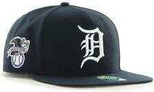Forty Seven 47 Brand Detroit Tigre Navy Sure Shot Snapback Cap Limited Edition