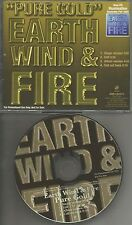 EARTH WIND AND FIRE Pure Gold Single Version & EDIT PROMO DJ CD single 2005 USA