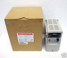 1 Variable Speed AC motor Driver Frequency Inverter AC220V 1HP 3φ IN 3φ Out TECO