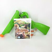 Cabela's Big Game Hunter Wii Game 2012 with Green Blaster