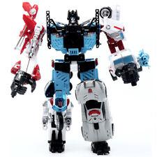 Transformation 5 in 1 ko new desigh Defender 33CM Robot Action Figure Toys