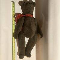 Antique Jointed Teddy Bear Antique Mohair Antique Teddy Bear Antique Toy