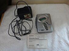 Vintage Sony Walkman Cassette & Radio WM-FX271 Working Order