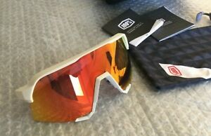 100% S3 cycling sunglasses glasses HiPER Red Multilayer Mirror lens RRP £180.00