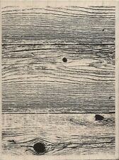 """""""Woodgrain Background"""" Rubber Stamp by Stampabilities"""