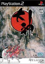 Used PS2 CAPCOM OKAMI SONY PLAYSTATION 2 JAPAN