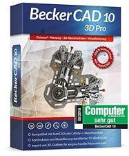 BeckerCAD 10 3D PRO - Architektur, Maschinenbau, Elektrotechnik, CAD Programm