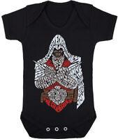 Kids Baby Grow Suit Assassins little gamer