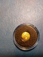 1865 MEXICO  token  Peso Eperador Maximilano Mexican Gold Coin 22hge token   G22