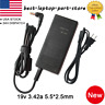 Lot 65W AC Adapter Charger for Toshiba Satellite A135 A200 A205 A215 PA-1700-02