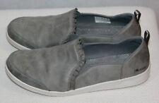 Skechers Grey Ruffle-Edge Slip-On Shoes - Madison Ave, Size 10M