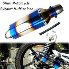 Exhaust Pipe Muffler Silencer Universal Motorcycle For Yamaha FZ6R 2009-2015