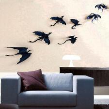 Art Creative Gothic Dragons Wall Sticker Inspired 3D Dragon Decor Window Sticker