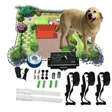 3 Dogs Waterproof Underground Shock Collar Electric Dog Fence Fencing System