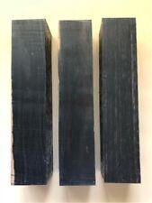 Schwarzes Ebenholz | Ebony | Drechselholz | Tonholz | Tonewood | 350 x 75 x 75mm