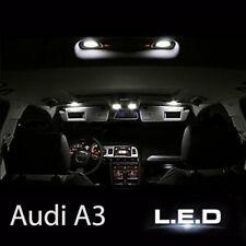 Kit éclairage intérieur ampoules à LED blanc pour Audi A3 RS3 Sportback