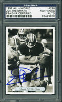 Redskins Joe Theismann Authentic Signed Card 1992 All World #296 PSA/DNA Slabbed