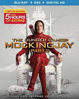 The Hunger Games: Mockingjay Part 2 [Blu-ray + DVD + Digital HD] NEW, FREE SHIPP