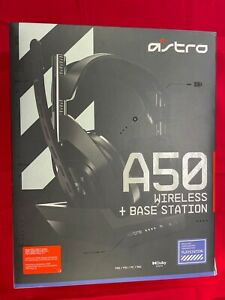 ASTRO Gaming A50 Wireless Headset and Base Station - Black/Grey