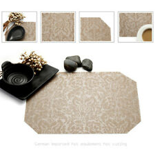 Home Round Table Placemats 4Pcs/Lot Washable Table mats for Dining Table Mat