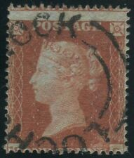 Sg 17 1d Red plate 188 MG. A superb used example with Lochwinnoch Udc