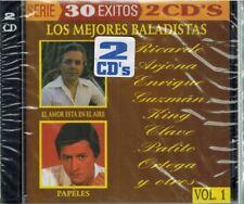 LOS MEJORES BALADISTAS 2 CD'S