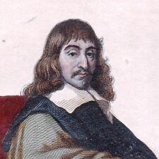 Descartes René Stockholm Mathématicien Philosophe Physicien Cogito ergo sum
