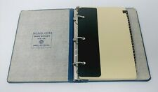 "Wilson Jones 3 Ring Binder Hardcover A-Z Index and Narrow Rule Paper 1"" Ring"