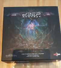 KICKSTARTER Deep Madness core game ENGLISH + FRENCH (+traduction francaise)