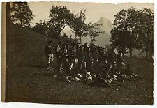 photo ancienne . régiment . Chasseurs Alpins