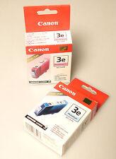 (PRL) CANON 3e BCI-3ePC PM PHOTO CYAN MAGENTA  LOTTO CARTUCCE INK LOT CARTRIDGES
