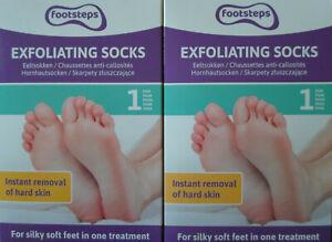 Anti Hornhaut Socken 2 Paar Hornhautentferner Fußmaske Fuss Peeling Fußpflege