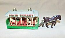 """Lledo UK Main Street Horse Trolley Days Gone #DG1 4.5"""" Long Vtg 1980s Mint 7888"""