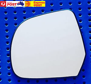 Left side mirror glass to suit NISSAN MICRA K13 2011 On, ALMERA N17 2012 On
