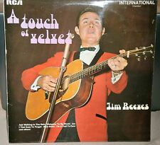 JIM REEVES A TOUCH OF VELVET INTS 1089 CAMDEN RECORDS VINYL LP ALBUM RECORD