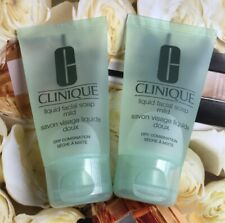 Lot of 2* Clinique liquid facial soap mild 30ml 1oz/ 30ml Each