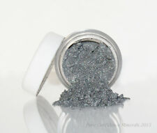 Electric Mineral Eye Shadow loose powder skin bare makeup organic gray silver