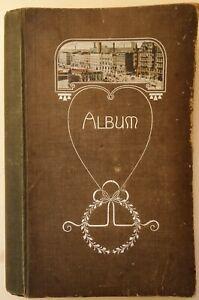 Vintage Postcard Album Containing 300+ Old Postcards