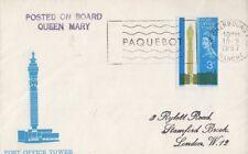GB 1967 TORRE DI UFFICI POSTALI PRIMO GIORNO DI COPERTURA FDC-Cherbourg TIMBRO POSTALE