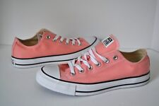 NEW CONVERSE Unisex ALL STAR Light Pink SHOES SNEAKERS Low Top Women 9 Men 7