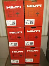 "Hilti Gx 120 Pins & fuel cells mix case 3 boxes 3/4"" & 3 boxes of 1/2"" free ship"