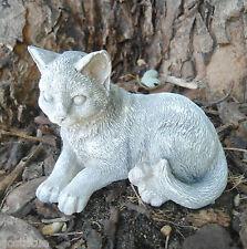 """Latex cat mold plaster concrete cement mould 4""""L"""