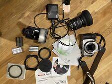 Canon EOS 300D Digital SLR Camera - Silver. 24-85mm Zoom Lens. 540EZ Flash +